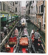 Venice Canal Wood Print