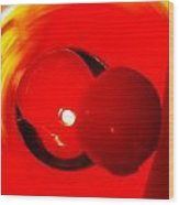 Very Cherry Wood Print