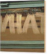 What  Urban Writers ' 2007 Wood Print