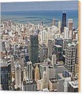 0001 Chicago Skyline Wood Print