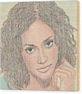 0002 Courtney Wood Print