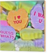0004 Valentine Series Wood Print