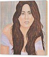 0006 Jordana Wood Print