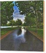 001 After The Rain At Hoyt Lake Wood Print