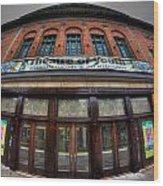 001 Allendale Theatre  Wood Print