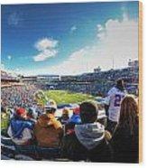 001 Buffalo Bills Vs Jets 30dec12 Wood Print