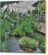 001 Within The Rain Forest Buffalo Botanical Gardens Series Wood Print