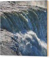 0010 Niagara Falls Winter Wonderland Series Wood Print