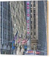 0010 Radio City Music Hall Wood Print