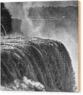 0011a Niagara Falls Winter Wonderland Series Wood Print