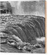 0013a Niagara Falls Winter Wonderland Series Wood Print