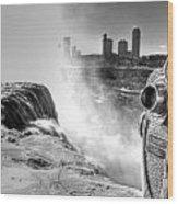0014a Niagara Falls Winter Wonderland Series Wood Print