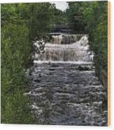 0015 Glen Falls Of Williamsville New York Series  Wood Print