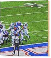 0016  Buffalo Bills Vs Jets 30dec12 Wood Print