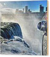 0016 Niagara Falls Winter Wonderland Series Wood Print