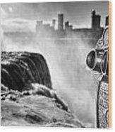 0016a Niagara Falls Winter Wonderland Series Wood Print