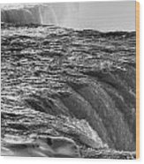 0017a Niagara Falls Winter Wonderland Series Wood Print