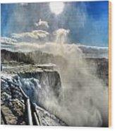 002 Niagara Falls Winter Wonderland Series Wood Print