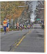 002 Turkey Trot  2014 Wood Print