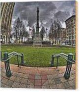 0029 Lafayette Square Wood Print
