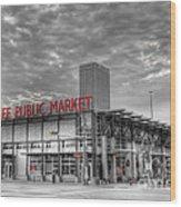 0038 Milwaukee Public Market Wood Print