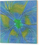 004 Abstract Wood Print