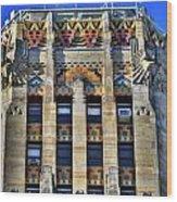 0049 Art Deco City Hall Wood Print