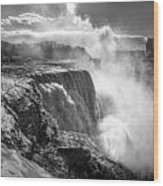 004a Niagara Falls Winter Wonderland Series Wood Print
