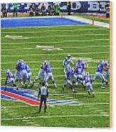 005 Buffalo Bills Vs Jets 30dec12 Wood Print