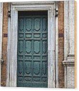 0053 Roman Door 2 Wood Print