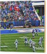 006 Buffalo Bills Vs Jets 30dec12 Wood Print