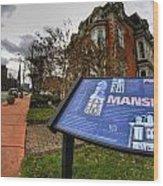 007 Mansion On Delaware Ave Wood Print