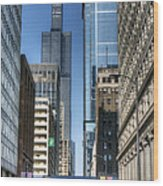 0078 Willis Tower Chicago Wood Print