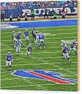 009 Buffalo Bills Vs Jets 30dec12 Wood Print