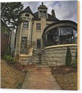 009 Law Offices Cornell Mansion Wood Print