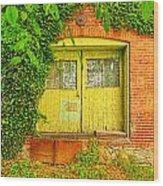 0096-121 Wood Print