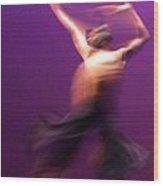 01 24 2013 Dancer 1 Wood Print