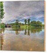 01 Reflecting At Hoyt Lake Series Wood Print