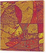 0119 Abstract Thought Wood Print