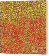 0124 Abstract Thought Wood Print