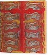 0136 Wood Print