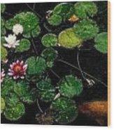 0148-lily -   Embossed Sl Wood Print