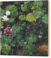 0148-lily -   Light Color Pencil Wood Print