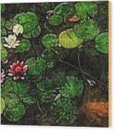 0148-lily -   Lux Sl Wood Print