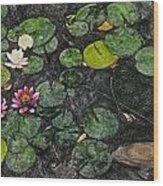 0148-lily -  Synchro Sl Wood Print