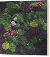 0151-lily -  Watercolor 2 Sl Wood Print