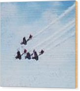 0161 - Air Show - Acanthus Wood Print
