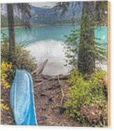 0162 Emerald Lake Wood Print