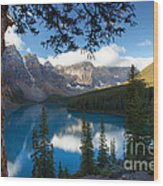 0164 Moraine Lake Wood Print