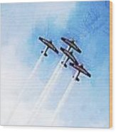 0166 - Air Show - Lux Wood Print